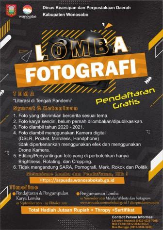Lomba Fotografi Arpusda Fest 2021